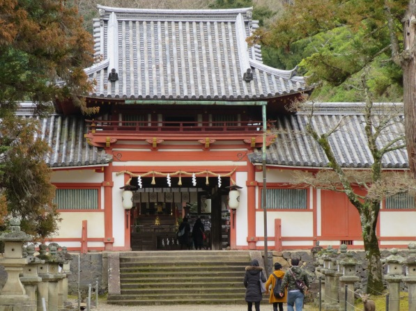 The Tamukeyama Hachiman Shrine