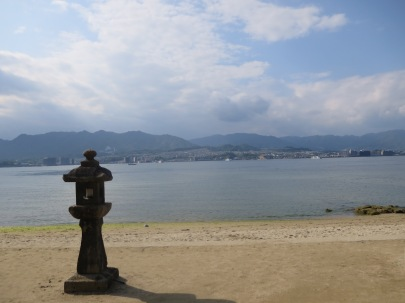 The view from Miyajima