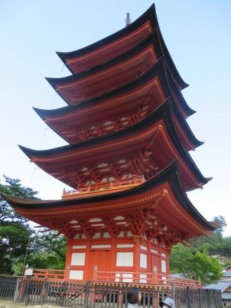 Pagoda on Miyajima