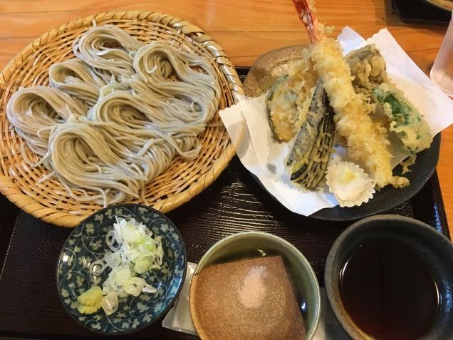 Tenzaru soba from Togakushi -- Yashiromae Naosuke