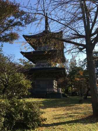 Pagoda at the Kokubun-ji in Joetsu