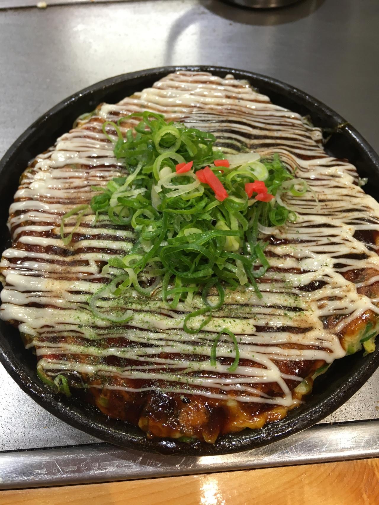 お好み焼き ― Okonomiyaki