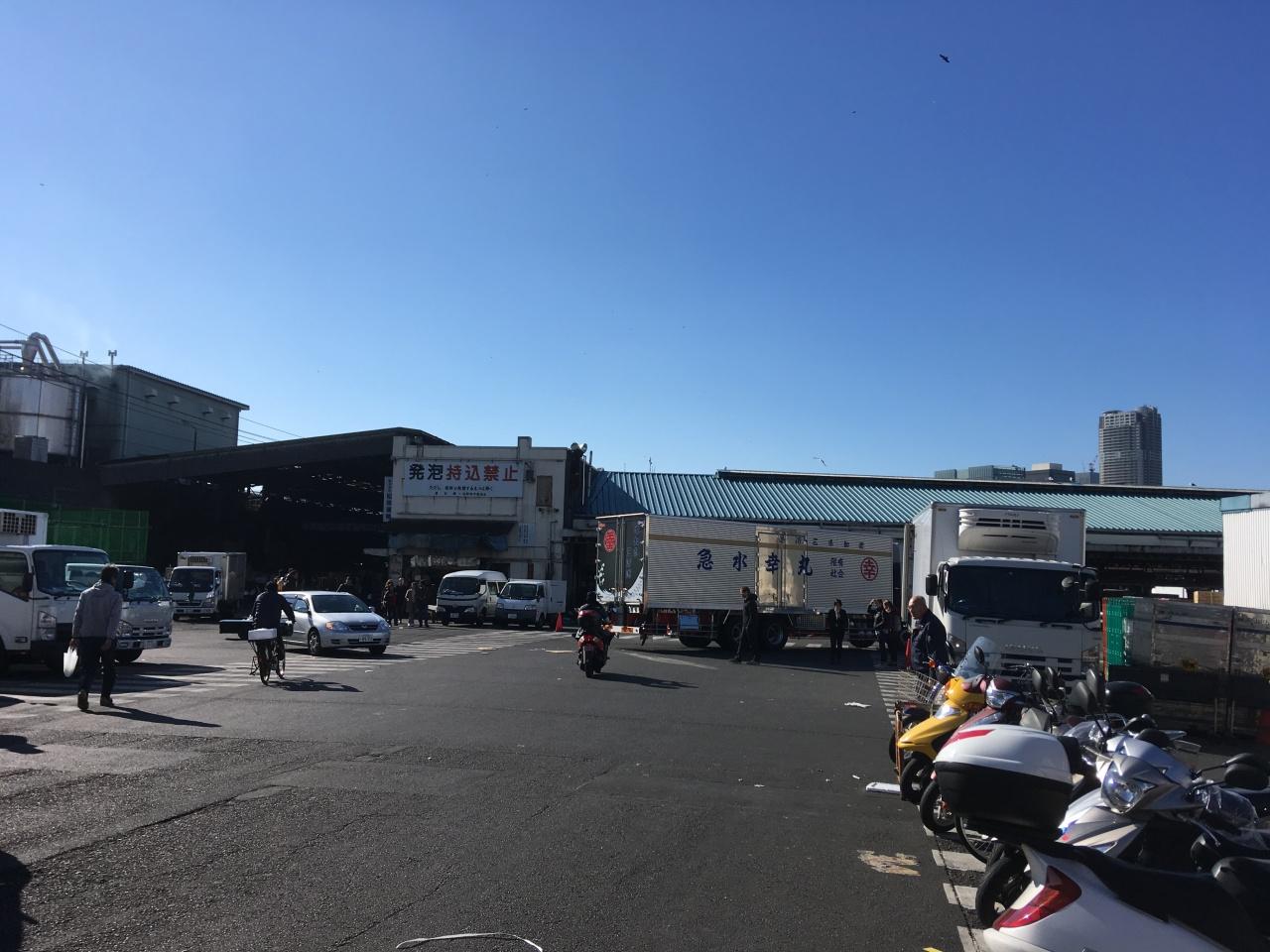 築地市場 — Tsukiji FishMarket