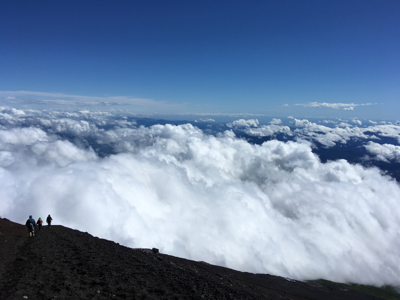 Climbing Mt. Fuji — The Descent